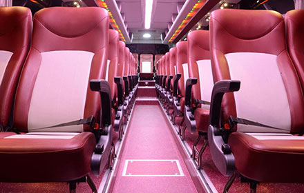 giant ibis bus interior
