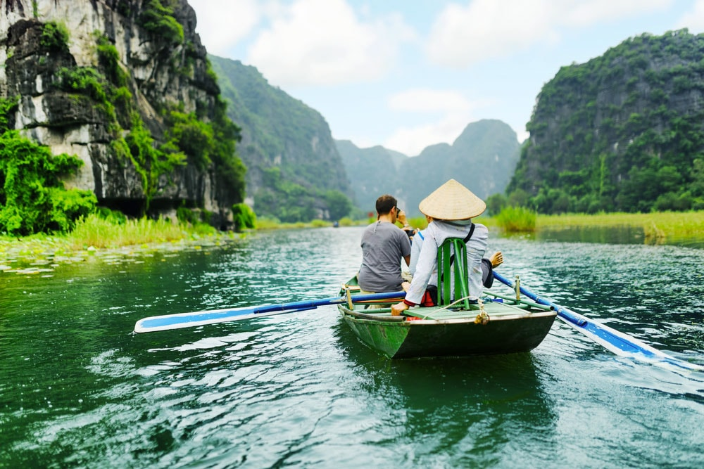 Hanoi to Ninh Binh to experience Tam Coc Boat Tour