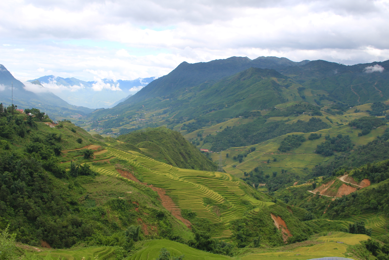 Best things to do in Sapa - trekking through rice terraces