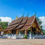 Hanoi to Luang Prabang - Wat Xieng Thong - Golden Palace