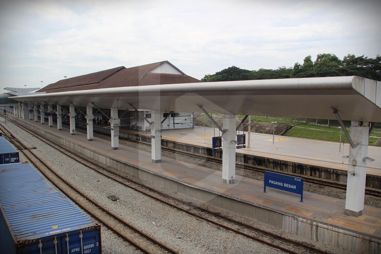 Padang Besar to Kuala Lumpur by train