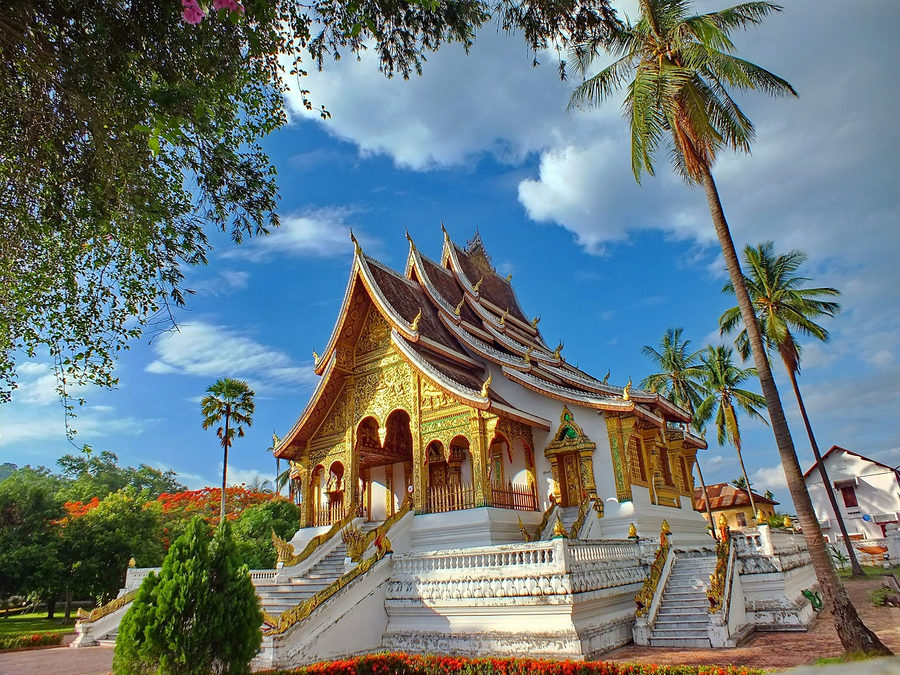 best places to visit in Luang Prabang - Wat Ho Pha Bang