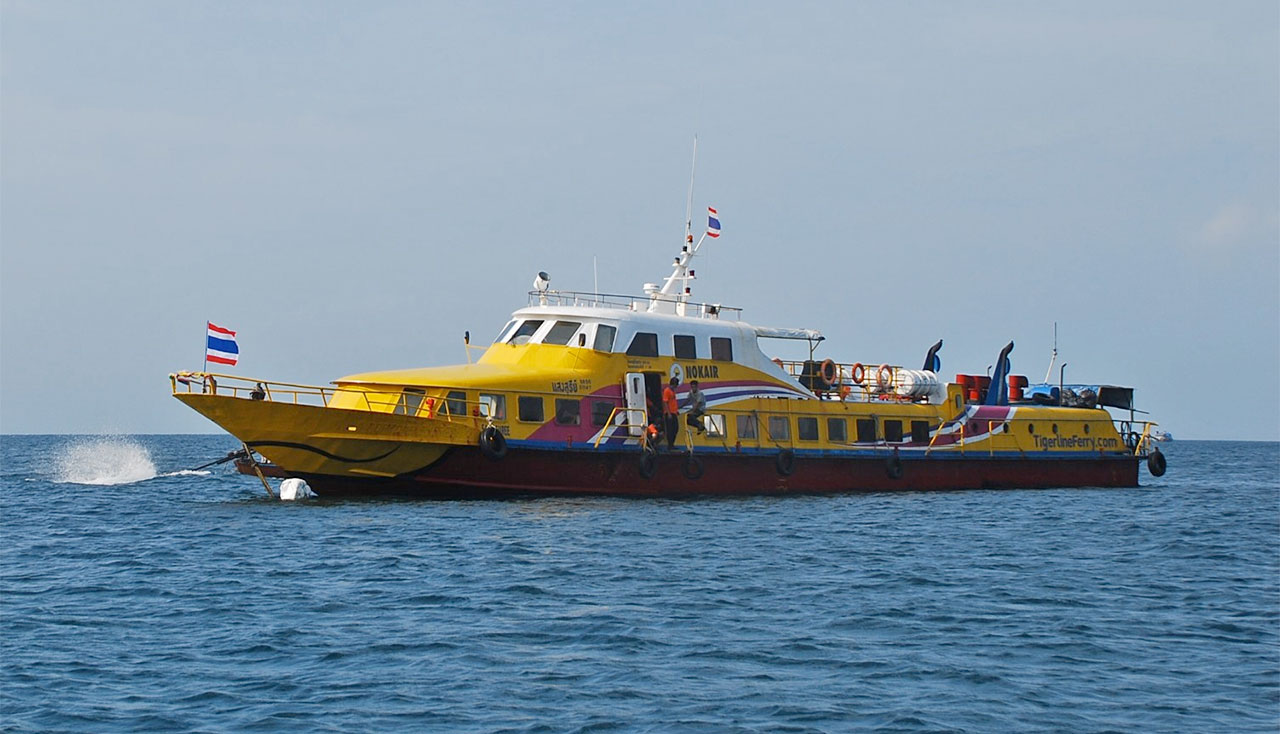 Book your ferry tickets with Tigerline