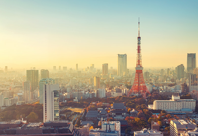 Book your train tickets to Tokyo